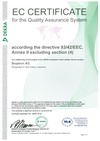 DEKRA 93/42/EEC Medical Device Directive EU